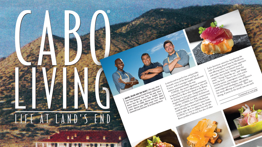 FEATURED IN CABO LIVING