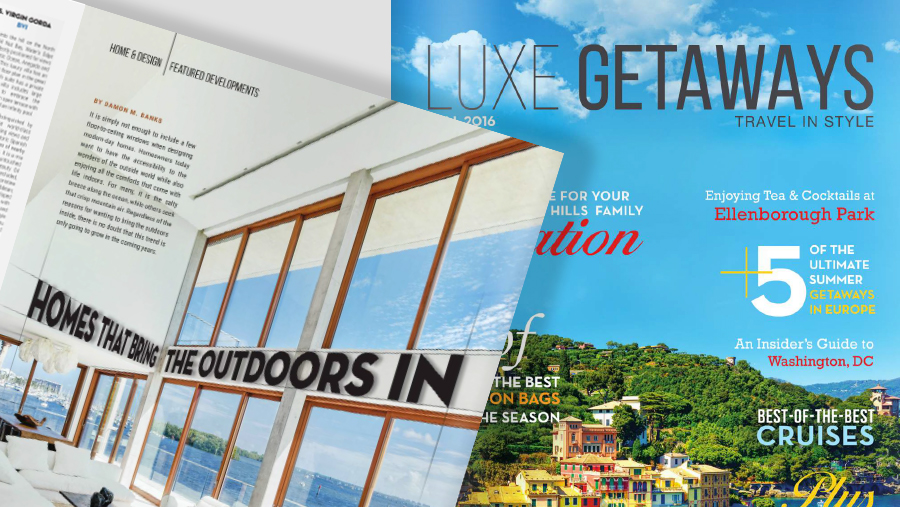 FEATURED IN LUXEGETAWAYS