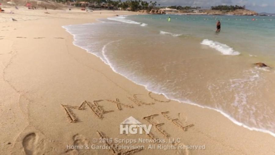 CHILENO BEACH FEATURED ON HGTV